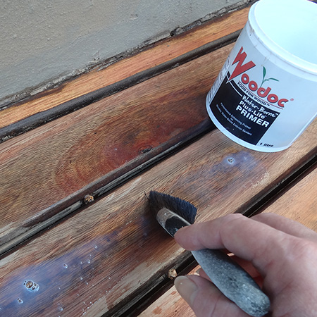 woodoc waterbased water borne exterior deck sealer plus life primer