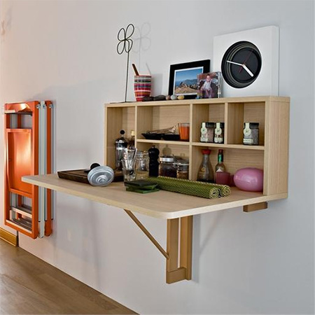 Home dzine home diy small space dining room or eat in for Eating tables for small spaces