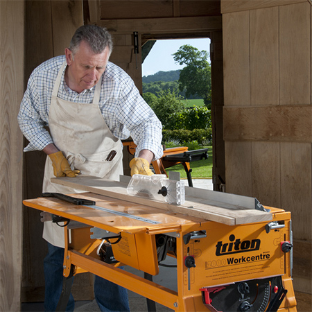triton workcentre cutting table saw