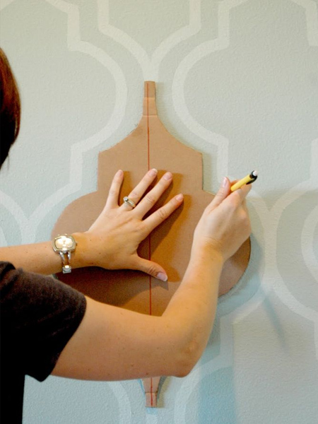HOME DZINE Crafts | How to make your own stencils