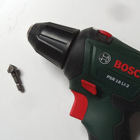 countersink bit used with drill / driver for sinking holes when drilling in timber or board