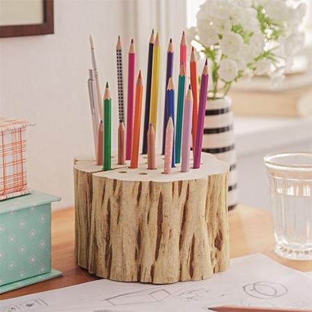 Home Dzine Craft Ideas 10 Minute Pencil Holder For School Supplies