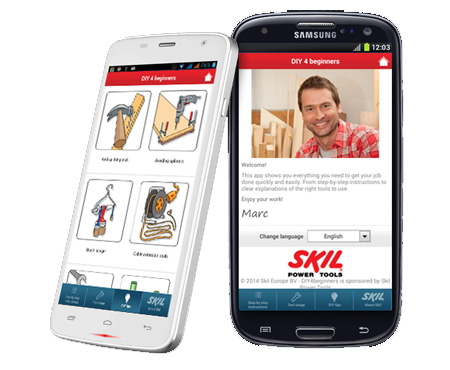 diy 4 beginners mobile app launched by skil