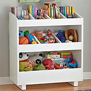 Bookshelf for books and toys