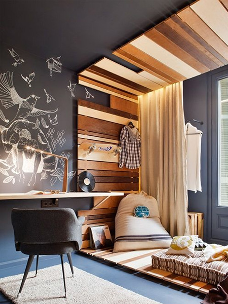 rustoleum chalkboard wall ideas for childrens bedroom