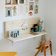 Plywood is great for children's furniture