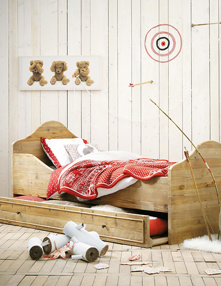 plywood beds childrens bedroom design ideas