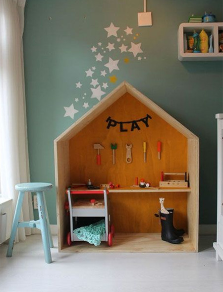Plywood perfect for children's rooms