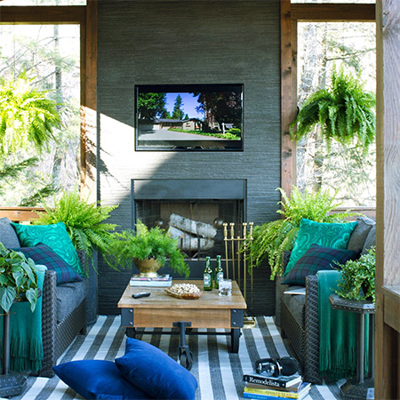 DIY Garden Ideas | Comfortable Outdoor Living Spaces