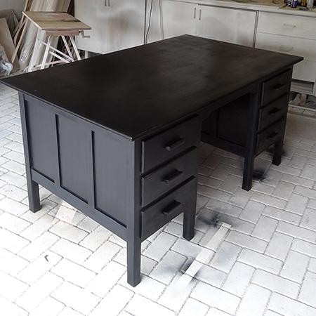 Home Dzine Craft Ideas Old Desk Gets A Rust Oleum Makeover