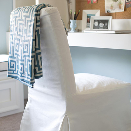 make slipcovers for dated furniture