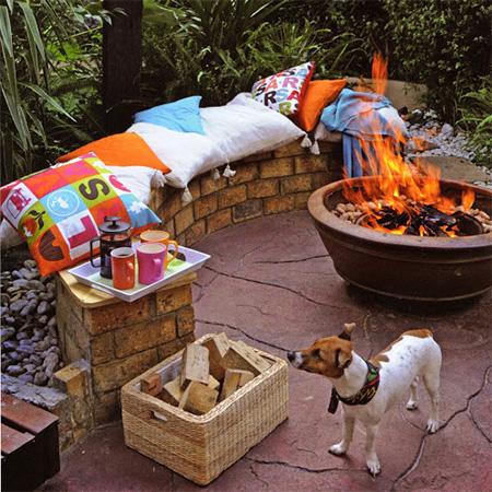 Home Dzine Garden Ideas Pave Outdoor Entertainment Area