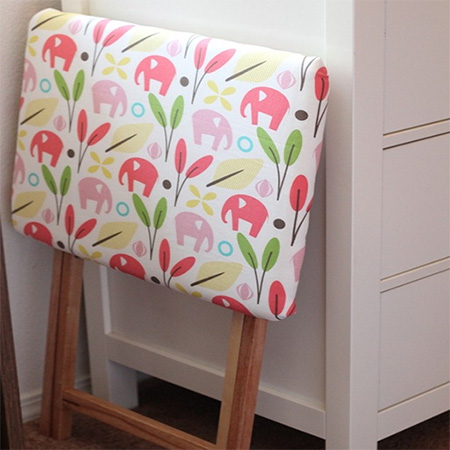 make fold up ironing board table