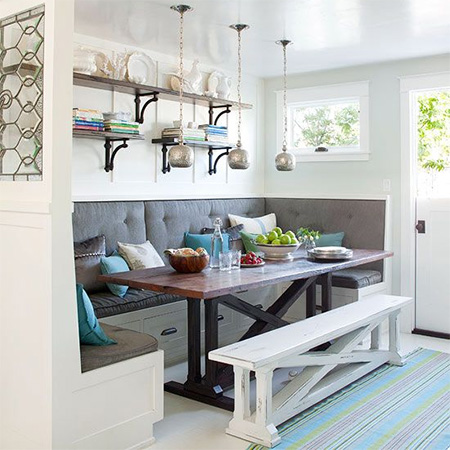 Banquette For Eat In Kitchen Or Dining Room