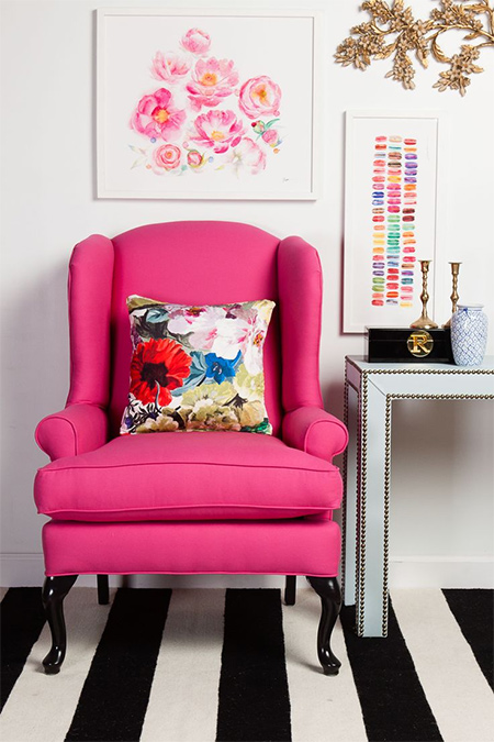 HOME DZINE Home Decor | Stripes are still trending in designer homes