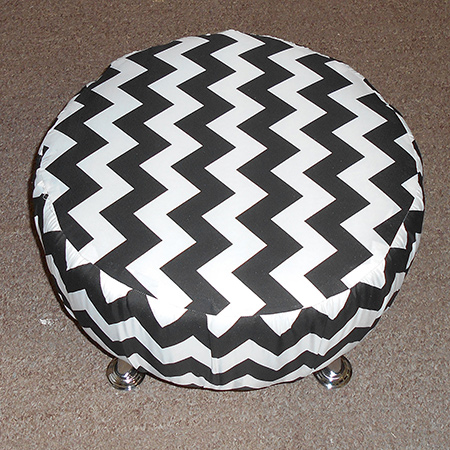 Quick and easy diy footstool