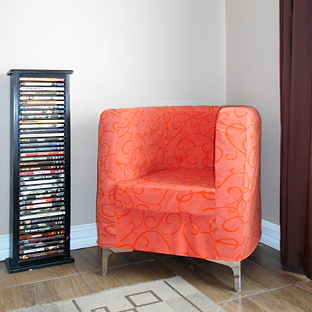 how to make upholstered tub chair and slipcover