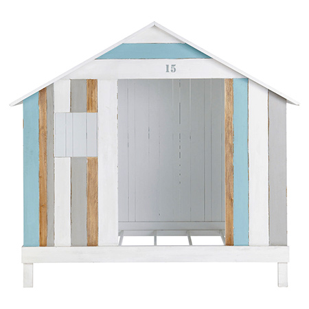 coastal style furniture for a child's bedroom beanch hut bed