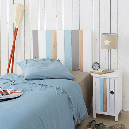 Making coastal style furniture for a child's bedroom beach bedside table