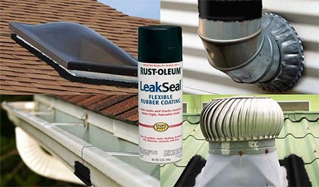 Rust-Oleum LeakSeal is an easy to use, rubberized protective coating designed to fill and seal leaks and cracks in and around the home.