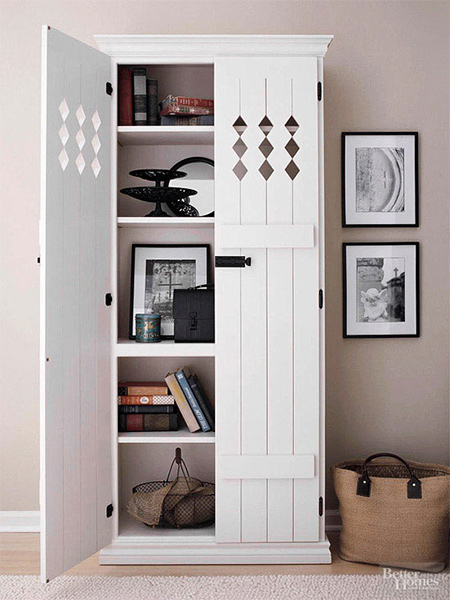 how to make a diy bookcase or bookshelf ideas with doors