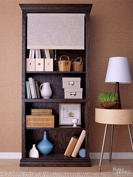 how to make a diy bookcase or bookshelf ideas dark stain