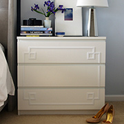 DIY chest of drawers with variety of finishes