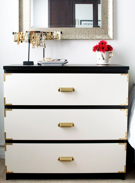 ikea hack diy malm dresser or chest of drawers