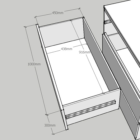diy instructions and plans to make ikea malm chest of drawers