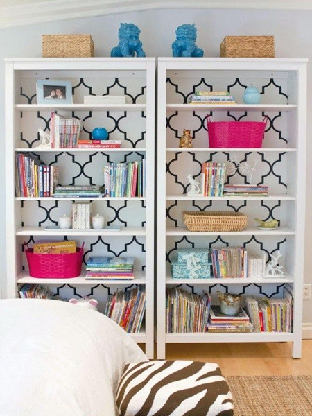 how to make a diy side by side bookcase or bookshelf ideas