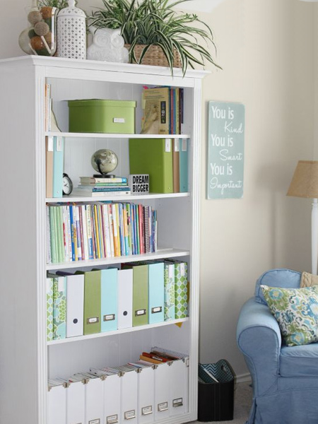 how to make a diy bookcase or bookshelf ideas