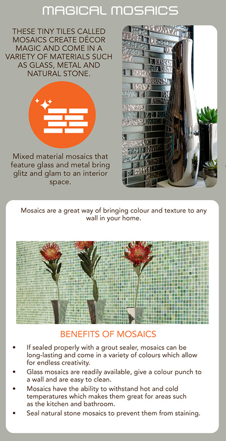 how to choose mosaic tiles