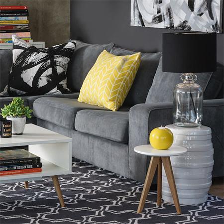 Home Dzine Home Decor Black And White Makes A Comeback