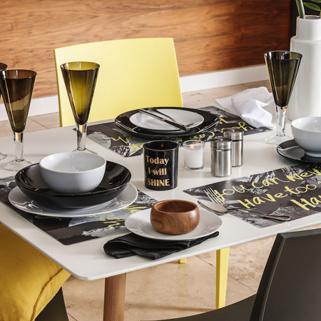 black white and yellow at mr price home