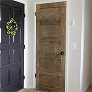 Add detail to an interior door