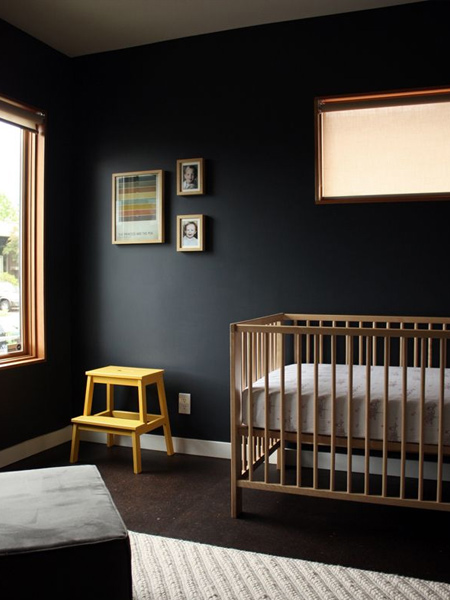 Think out of the box when decorating a child's bedroom or nursery