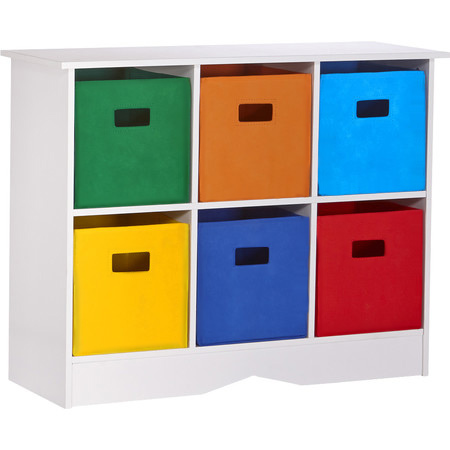 Home Dzine Bedrooms Colourful Storage Unit For A Child S