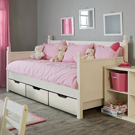 How to make underbed storage drawers daybed