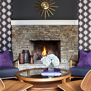 Make your fireplace a feature