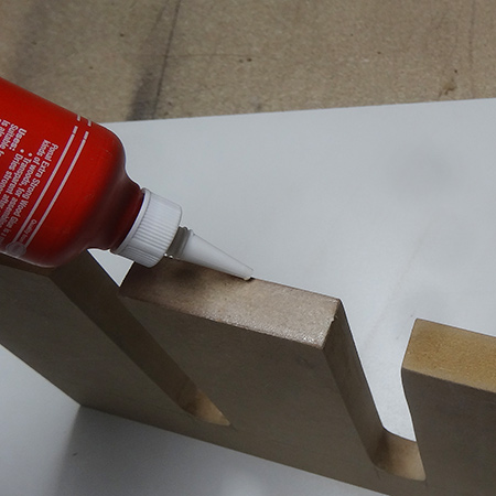 seal edges of mdf with wood glue