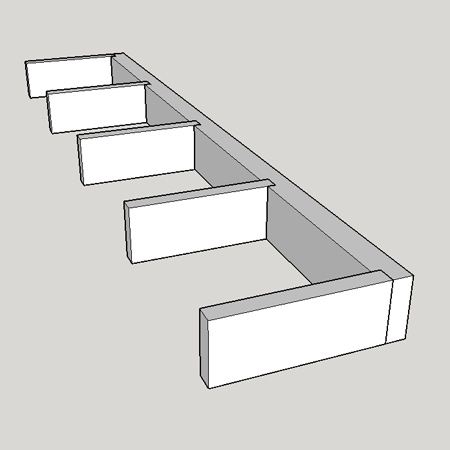 How to make chunky floating shelves
