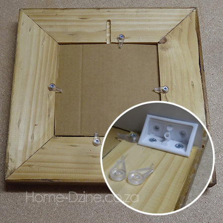 Home Dzine Home Diy Easy Wooden Picture Or Photo Frame