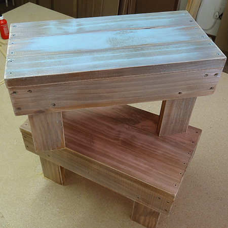 Home Dzine Home Diy Baby Steps Wooden Stools For