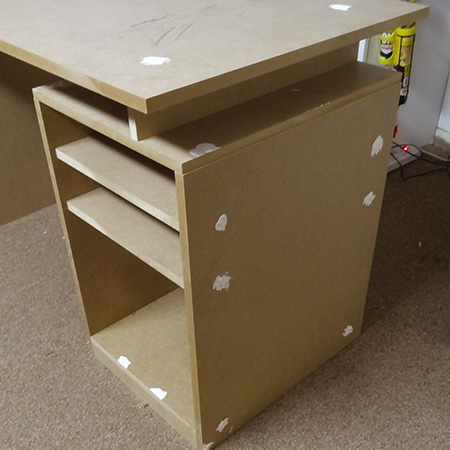 HOME DZINE Home DIY | Practical desk for child or teen bedroom