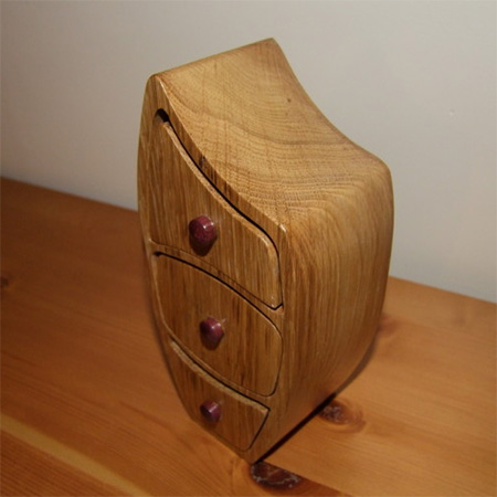 Beautiful bandsaw jewellery or trinket boxes