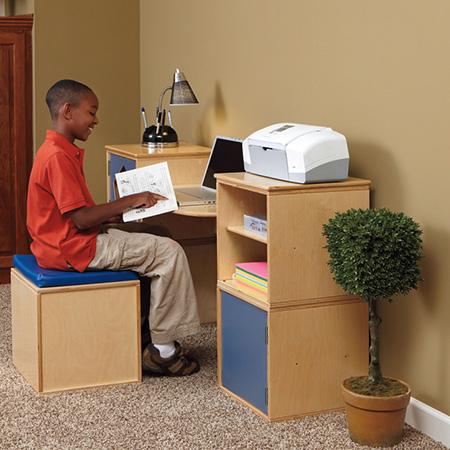 Merveilleux Modular Cube Desk For Childu0027s Bedroom