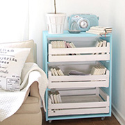 Practical and pretty storage drawers