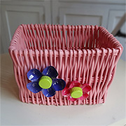 Colourful storage basket