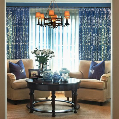 Winter window treatments
