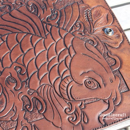 leather tooling craft project